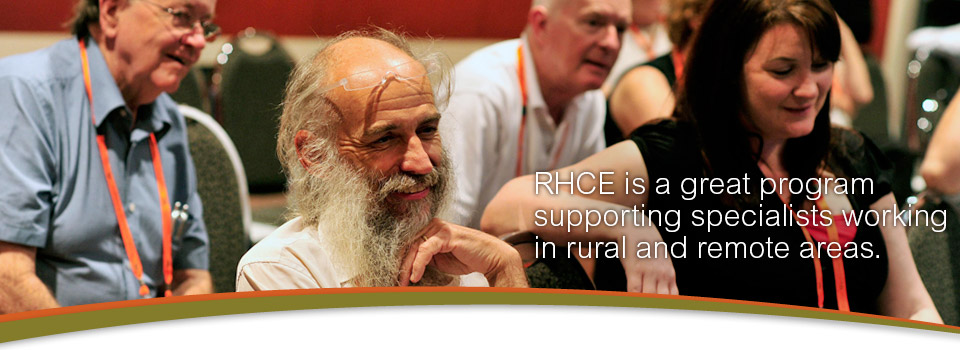 Supporting Rural Specialists